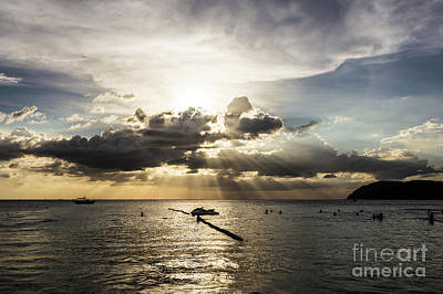 Photograph - Sunset Over Langkawi by Didier Marti