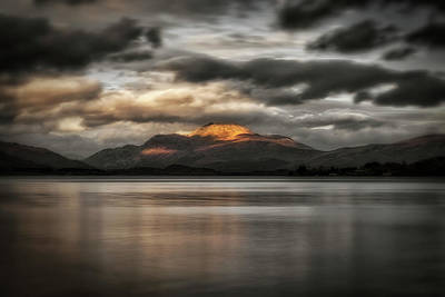 Photograph - Sunset Over Loch Lomond by Jeremy Lavender Photography