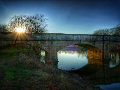 Photograph - Sunset Over Monocacy by Ryan Shapiro
