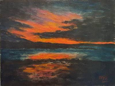 Sunset Over Navy Island Original