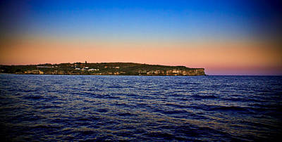 Photograph - Sunset Over North Head by Miroslava Jurcik