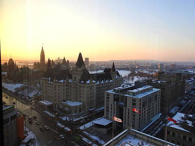 Photograph - Sunset Over Parliament Hill by Betty-Anne McDonald