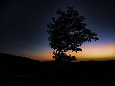 Art Print featuring the photograph Sunset Over Pennsylvania by Maciek Froncisz