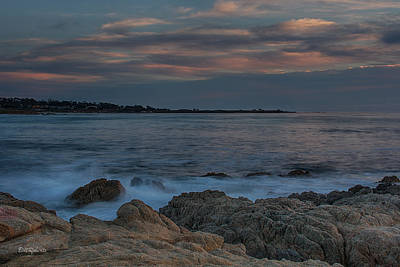 Pacific Grove Photograph - Sunset Over Point Joe by Bill Roberts