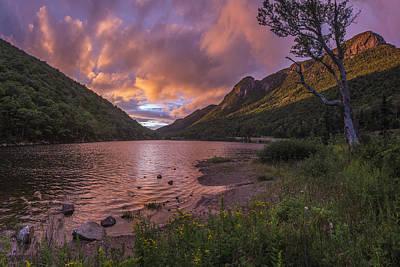 Sunset Over Profile Lake Art Print