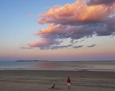 Photograph - Sunset Over Revere Beach Revere Ma by Toby McGuire