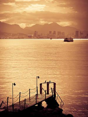 Photograph - Sunset Over Rio De Janeiro by Celso Diniz