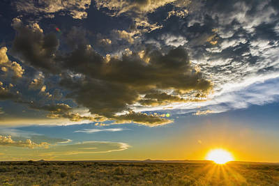 Royalty Free Images Photograph - Sunset Over Rio Grande Valley New by Michael DeYoung