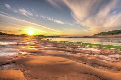 Photograph - Sunset Over River Ythan by Veli Bariskan
