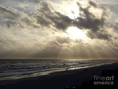 Ocean Photograph - Sunset Over Rosemary by Megan Cohen