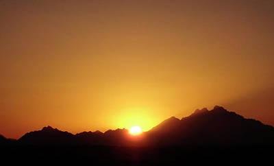 Photograph - Sunset Over Sahara 3 by Johanna Hurmerinta
