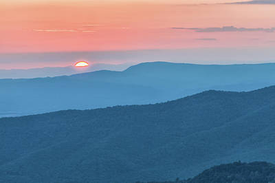 Photograph - Sunset Over Shenandoah  by Jonathan Nguyen