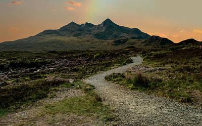 Photograph - Sunset Over Skye Island by Jaroslaw Blaminsky