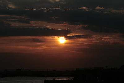 Photograph - Sunset Over South Ferry by Christopher Kirby