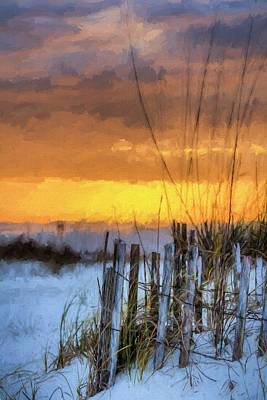 Photograph - Sunset Over South Walton by JC Findley