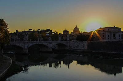 Sunset Over St Peters Art Print