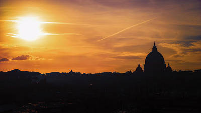 Photograph - Sunset Over St Peters by James Billings