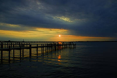 Photograph - Sunset Over The Bay by Allen Beatty