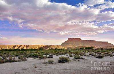 Photograph - Sunset Over The Mesa by Debbie Green