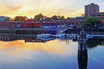 Photograph - Sunset Over The Notch Salem Ma Salem by Toby McGuire