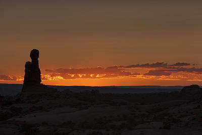 Photograph - Sunset Over The Petrified Dunes by David Watkins