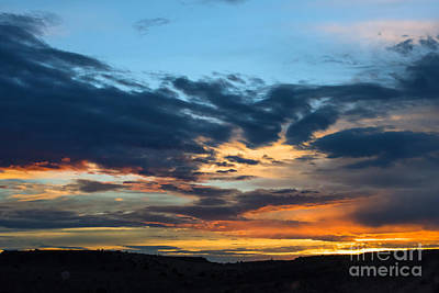 Photograph - Sunset Over The Plains Of The Texas Panhandle 1 by MaryJane Armstrong