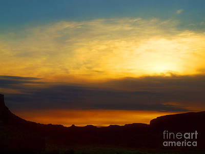 Photograph - Sunset Over The Rocks by Tara Turner