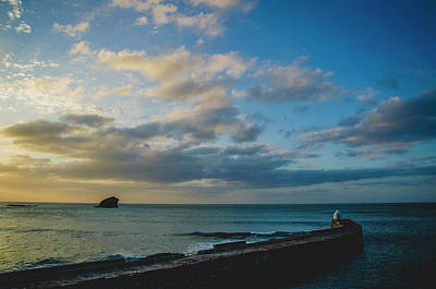 Photograph - Sunset Over The Sea by Edyta K Photography