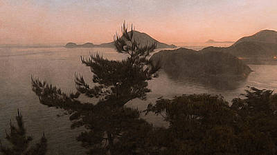Photograph - Sunset Over The Sea Of Japan by Susan Maxwell Schmidt