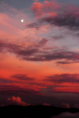 Photograph - Sunset Over The Smokies by Mike Eingle