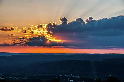 Wall Art - Photograph - Sunset Over The Valley by Robert Goodwin