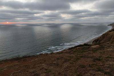 Photograph - Sunset Over Torrey Pines - 2 by Hany J