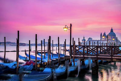 Royalty-Free and Rights-Managed Images - Sunset over Venice by Andrew Soundarajan