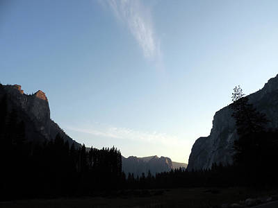 Photograph - Sunset Over Yosemite by Eric Forster