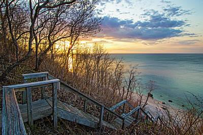 Photograph - Sunset Overlooking Long Island Sound by Robert Seifert
