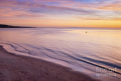 Photograph - Sunset Paddle by Ray Warren