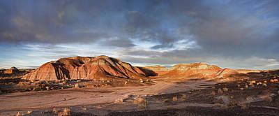 Photograph - Sunset Paints The Desert by Leda Robertson