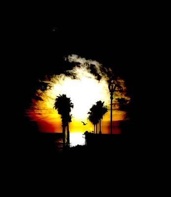 Photograph - Sunset Palms by Amanda Eberly-Kudamik