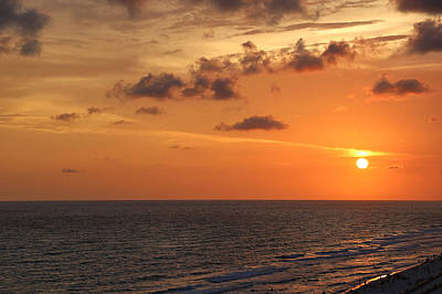 Sunset Panama City Florida Art Print