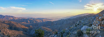 Surrealism Royalty Free Images - Sunset Panorama at Keys View Royalty-Free Image by Michael Ver Sprill