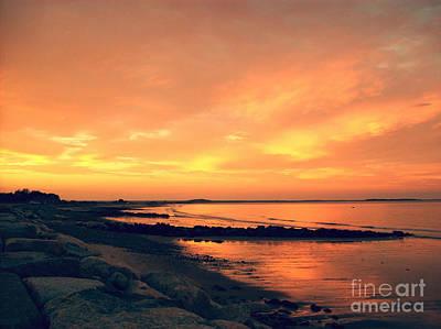 Mayflower Beach Photograph - Sunset Paradise  by Mary Ann Weger