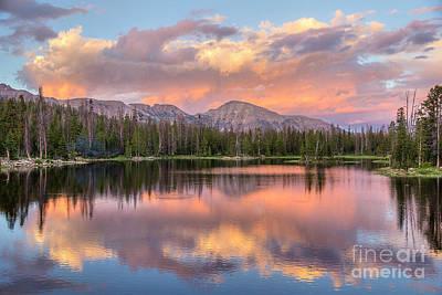 Photograph - Sunset Pass by Spencer Baugh