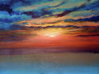 Painting - Sunset by Patti Lane