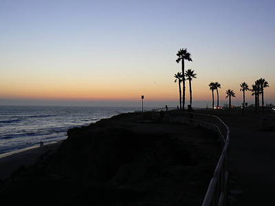 Sunset Pch 2006 Art Print by Ron Hayes