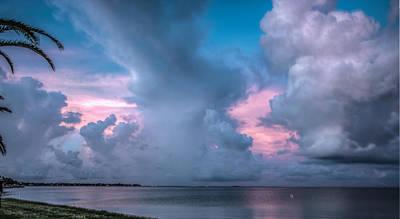 Photograph - Sunset Peeking by Jane Luxton
