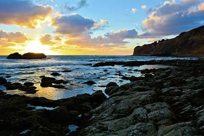 Photograph - Sunset Pelican Cove by Kyle Hanson
