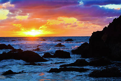 Photograph - Sunset Pelican Cove Los Angeles by Kyle Hanson