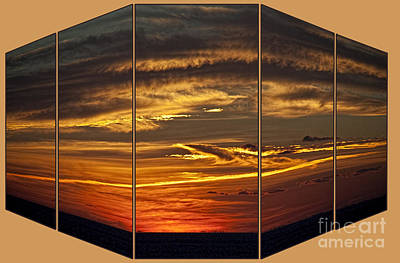 Photograph - Sunset Perspective by Shirley Mangini