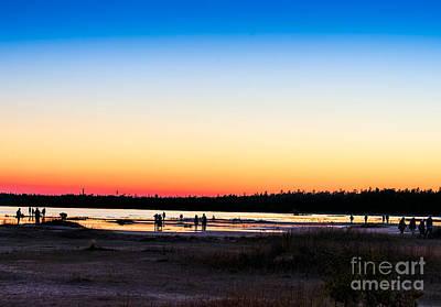 Photograph - Sunset Photographers by Les Palenik