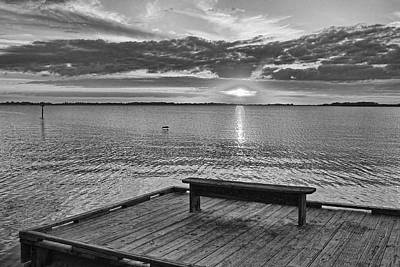Photograph - Sunset Pier 2 By H H Photography Of Florida by HH Photography of Florida